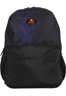 Mochila Red Bull Bevince Azul Preto - Unissex-Azul+Preto