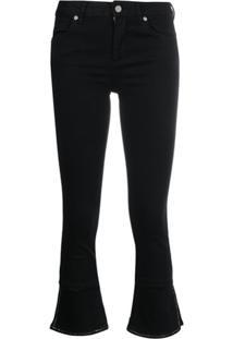 Liu Jo Calça Jeans Cropped - Preto