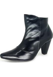 Bota Miuzzi Ankle Boot Preta