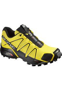 Tênis Salomon Masculino Speedcross 4 Amarelo/Preto 45
