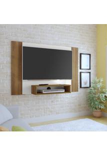 Painel Para Tv Até 40 Polegadas Cine Pinho E Off White