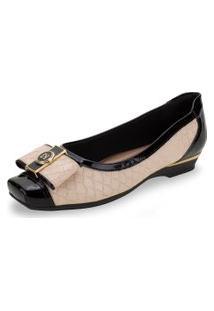 Sapato Feminino Salto Baixo Piccadilly - 147152