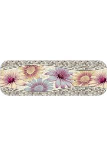 Passadeira Premium Flowers Único Love Decor