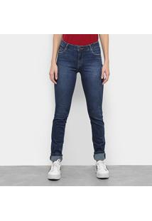Calça Jeans Lacoste Denim Feminina - Feminino-Jeans
