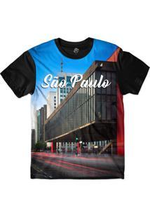 Camiseta Bsc São Paulo Sublimada Azul