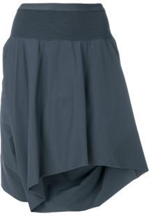Rick Owens Shorts Cós Elástico - Cinza