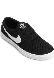 Tênis Nike Sb Portmore Ii Ultralight Masculino - Masculino-Preto+Branco
