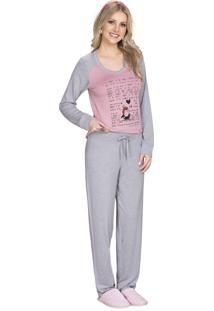 Pijama Vincullus Inverno Rose C/ Mescla