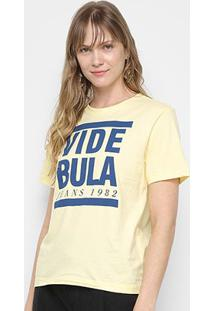 Camiseta Vide Bula Slim 1992 Feminina - Feminino