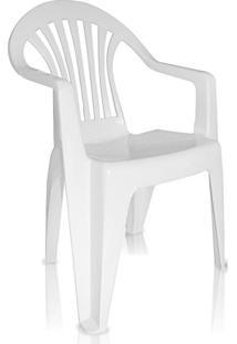 Cadeira De Plástico Suprema Unai Branca Antares
