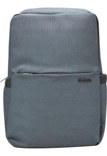 Mochila Swissland Impermeável Notebook Executiva - Ys28094 - Chumbo