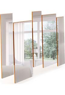 Espelho Decorativo Isadora 136 X 120 Ipê