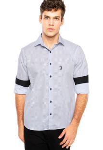 Camisa Aleatory Bordado Branca