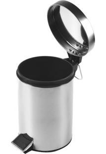 Lixeira Dolce Home 12 Litros - Inox
