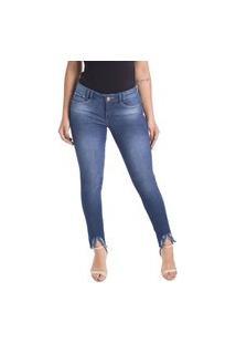 Calça Jeans Cigarrete Linda Z Skinny 206621295 Azul