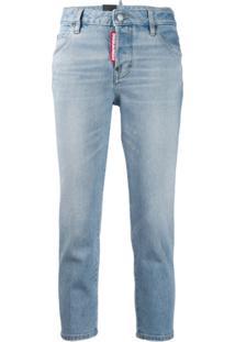 Dsquared2 Calça Jeans Girlfriend - Azul