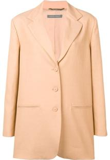 Alberta Ferretti Button-Up Jacket - Neutro