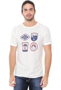 Camiseta Timberland Vintage Inspired Sto Off-White