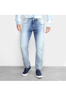 Calça Jeans Skinny Forum Estonada Masculina - Masculino-Azul Claro