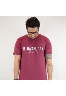 Camiseta Zé Carretilha - Juv-Molequetravesso-Javari-Grena Masculina - Masculino