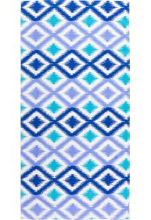 Toalha Banho Danúbio Arlequin I 65X130Cm - Teka - Azul