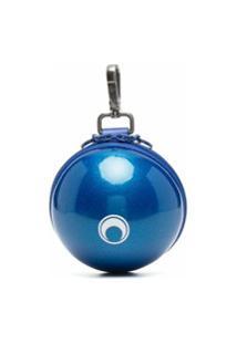 Marine Serre Carteira Micro Com Zíper - Azul