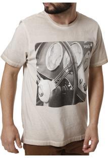 Camiseta Vels Marrom