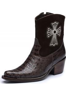 Bota Top Franca Shoes Country Preto