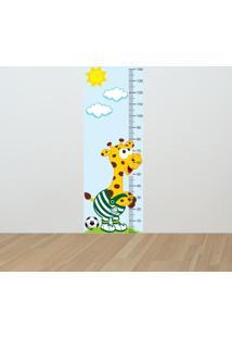 Adesivo Régua De Crescimento Girafa Palmeirense (0,50M X 1,50M)