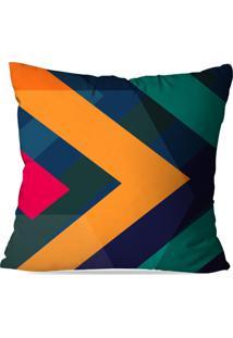Capa De Almofada Love Decor Avulsa Color Abstrato Multicolorido - Azul - Dafiti