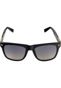 Óculos De Sol Khatto Sunset Masculino - Masculino-Preto