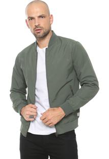 Jaqueta Bomber Jack & Jones Lisa Verde
