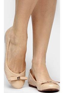 Sapatilha Couro Shoestock Matelassê Feminina - Feminino