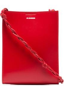 Jil Sander Tangle Small Shoulder Bag - Vermelho
