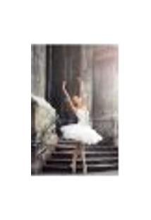 Painel Adesivo De Parede - Bailarina - Ballet - Balé - 1578Pnm