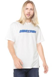 Camiseta Dc Shoes Swerve Off-White