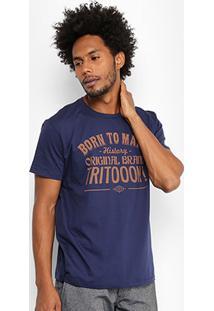 Camiseta Triton Born To Make Masculina - Masculino