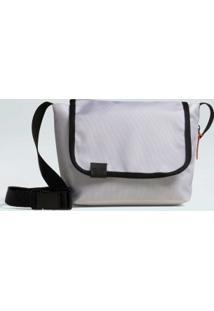 Bolsa Small Flap Nylon-Branco/Preto - Un