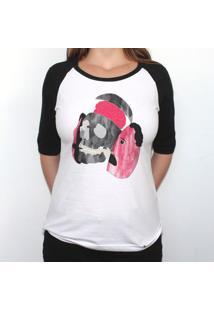Ouro Interno - Camiseta Raglan Manga ¾ Feminina