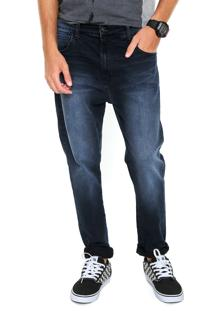 Calça Jeans Coca Cola Reta Lavagem Azul
