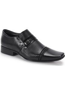 Sapato Social Masculino Jota Pe Flex Feet - Preto