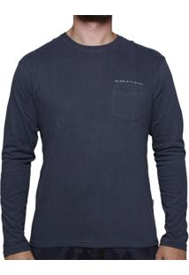 Camiseta Vlcs Manga Longa Mind Bolso - Masculino