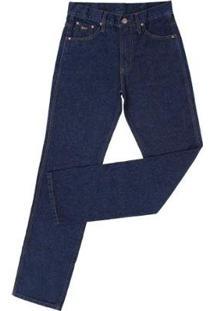 Calça Jeans Country Fast Back Masculina - Masculino-Azul Escuro