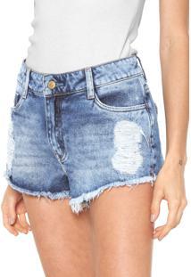 Bermuda Jeans Carmim Carla Azul