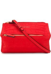 Givenchy Bolsa Transversal Pandora - Vermelho