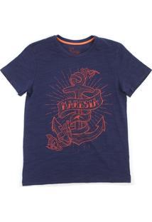 Camiseta Maresia Âncora - Masculino