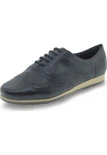 Sapato Feminino Oxford Bottero - 305401 Preto 34