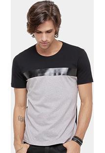 Camiseta Forum Bicolor Masculina - Masculino