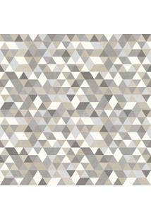 Papel De Parede Triângulos Cinza (1000X52)