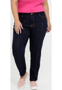 Calça Jeans Skinny Feminina Plus Size Gups